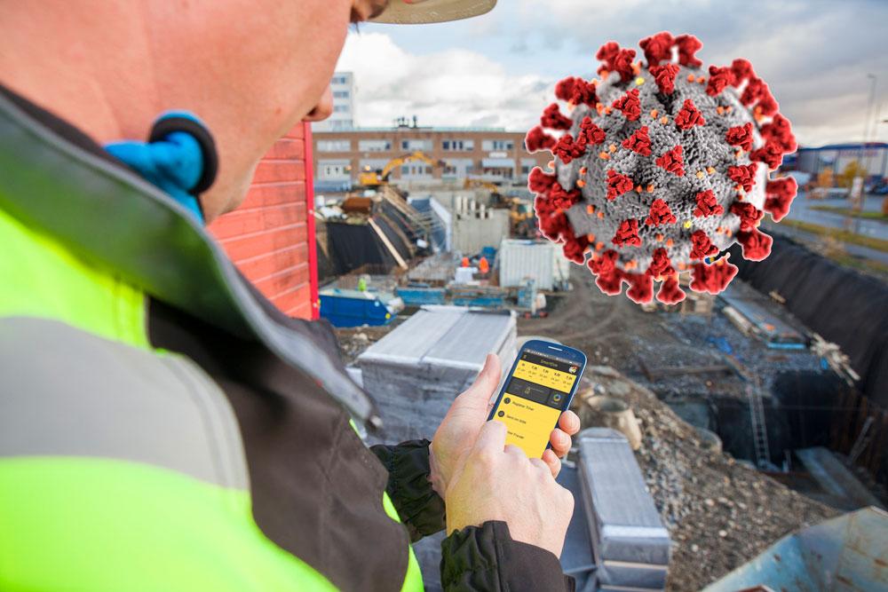 Bedre smittevern kan forhindre stopp i byggeprosjektet