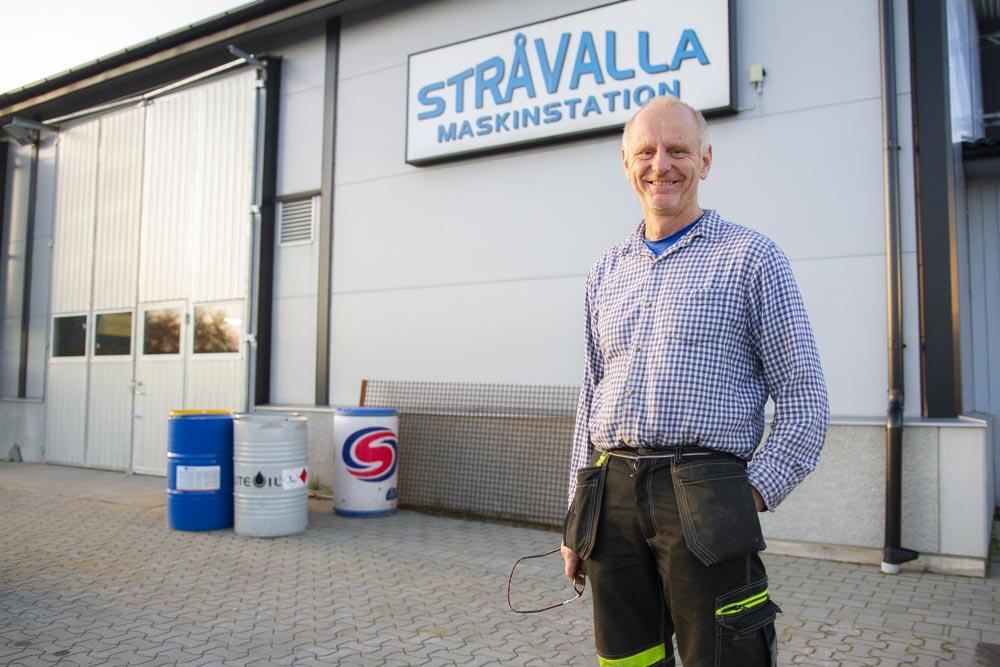 Per-Erik Johansson Stråvalla Maskinstation bruker SmartDok