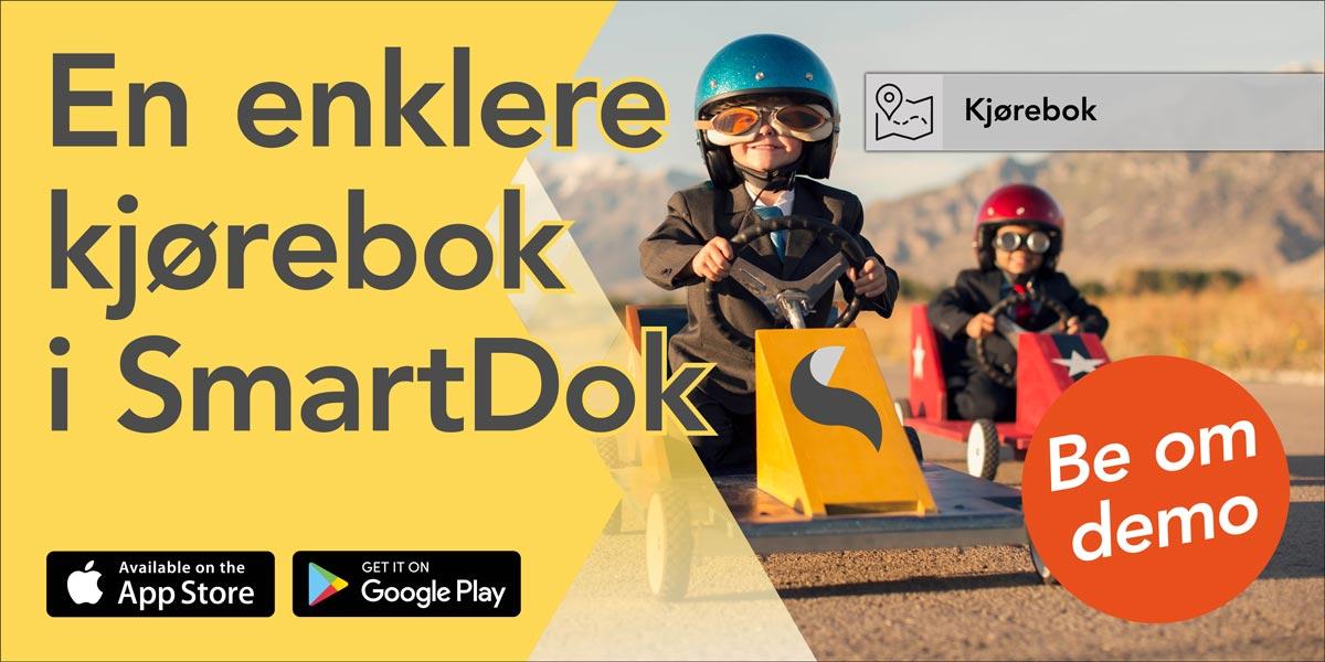 Superenkel kjørebok - be om demo