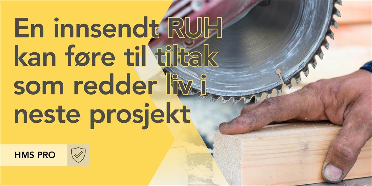 Registrering av uønsket hendelse (RUH)